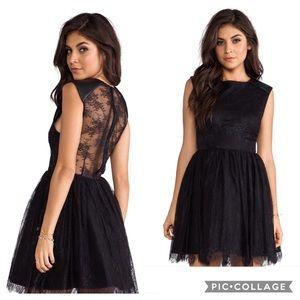 Alice + Olivia Shelly Lace Dress